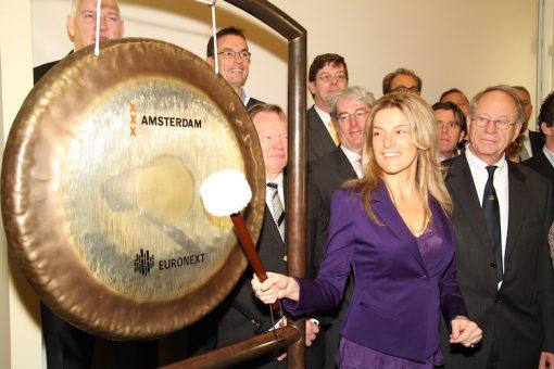 Lucille Werner slaat op gong