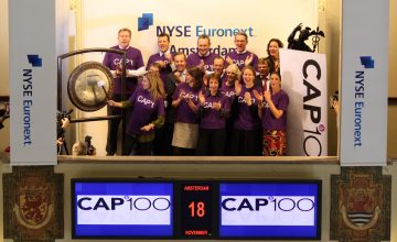 CAP100 gongceremonie